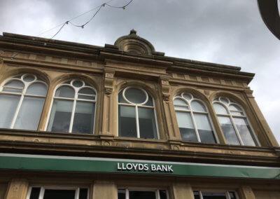 Bank facade repair and restoration