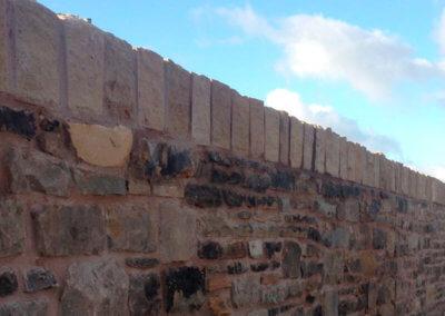 Mossley Road Retaining Wall, Tameside